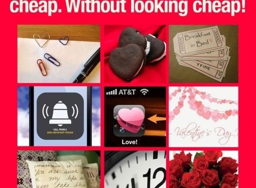❤ Be romantic but on the cheap – Valentines