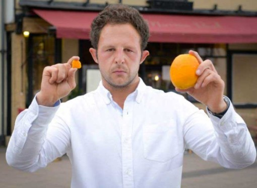 The £8,000 cost of dropping a piece of orange peel