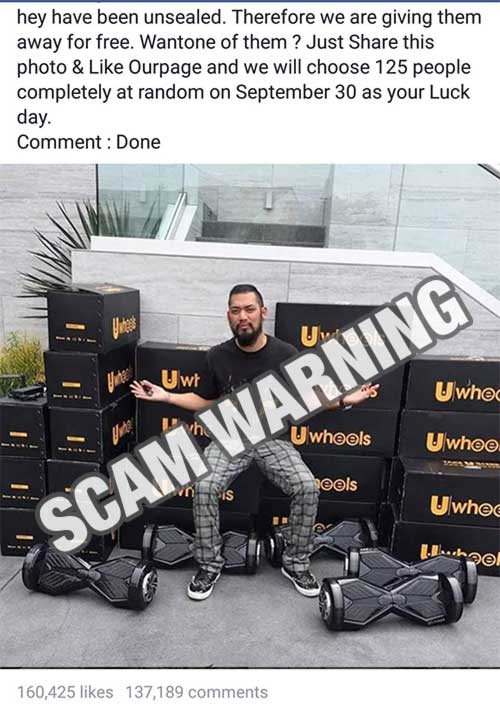 Just look at the amount of people that fell victim to the scam