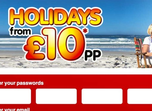 Holiday's from £10pp from BreakFreeHolidays (similar to Sun Holidays)