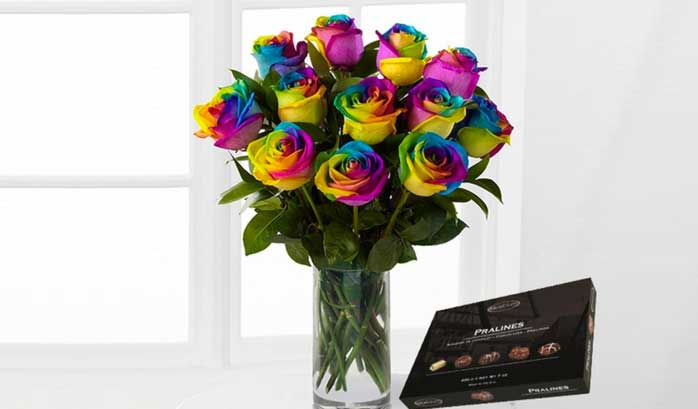 can you make rainbow roses at home short answer yes