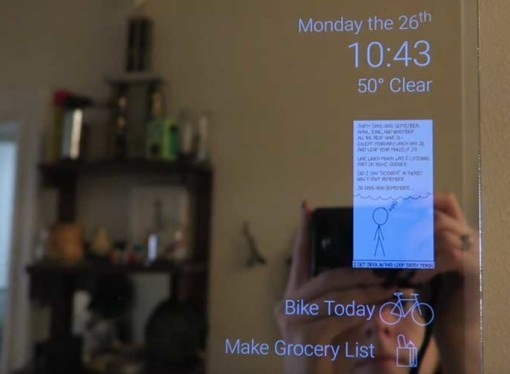 How to make an Android Smart Mirror [DIY project]