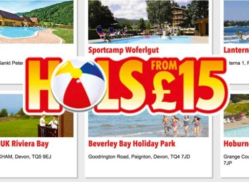 The Sun £15 Holiday Codes (April 2016)