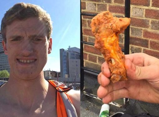 Man finds what he thinks is a chicken head in his lunch, the press of course go crazy over it, it actually is a chicken wing but a funny response from Tesco makes it worthwhile + what you should do if you find something suspect