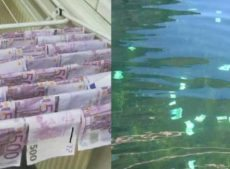 You find £72,000 in a river, what do you do?