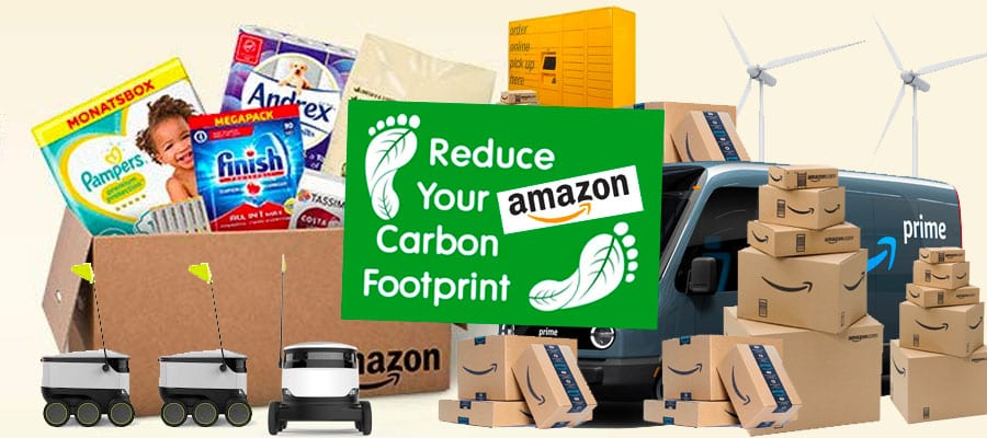 How to reduce your Amazon Carbon Footprint