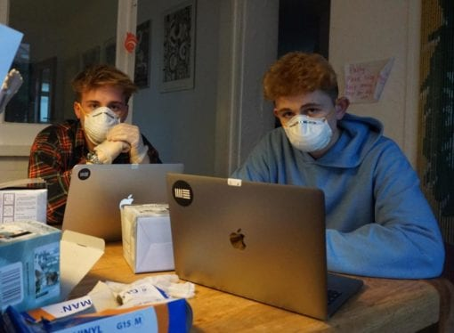 Two students make £10,000 by cashing in on 'Coronavirus' masks, legends or scammers?